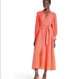NWT Alexis Target Shirtdress Robe Dress Size S